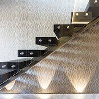 St James Park Westminster SW1H Penthouse alterations and refurbishment Staircase detail 200x200 Westminster residential architect projects