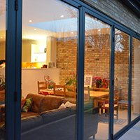 Architect designed house extension Grange Park Enfield N21 Outside view Enfield residential architect projects