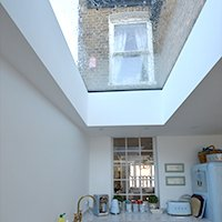 Enfield Chase EN2 Rear house extension refurbishment rooflight 200x200 Enfield residential architect projects