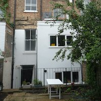 Chalk Farm Camden NW5 3QB Flat rear extension Rear elevation 200x200 1 Tufnell Park, Camden NW5 | Rear house extension