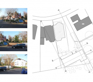 01 Highgate Haringey N6 House development Site plan 300x266 Highgate I, Haringey N6 | Residential property development