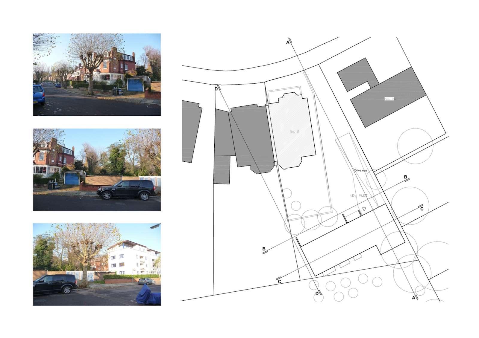 01 Highgate Haringey N6 House development Site plan Highgate I, Haringey N6 | Residential property development