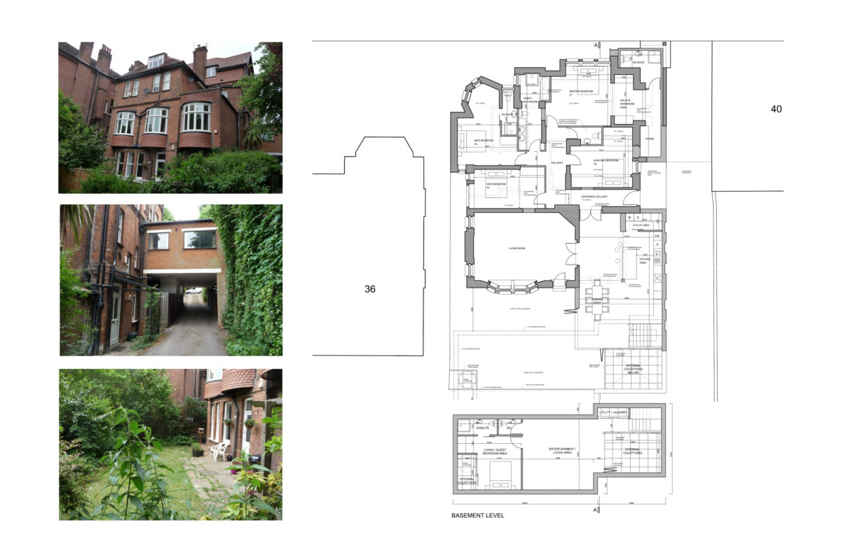 Finchley road Camden NW3 Flat extension Design floor plan 3 1200x800 Finchley Road, Camden NW3 | Flat extension