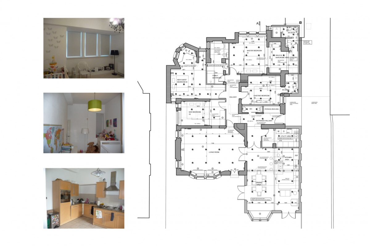 Finchley road Camden NW3 Flat extension Internal fitting layouts 1 1200x800 Finchley Road, Camden NW3 | Flat extension