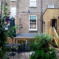 Kings Cross Islington WC1 Listed Building rear flat extension Rear elevation photo Angel, Islington N1 | Mansard roof house extension