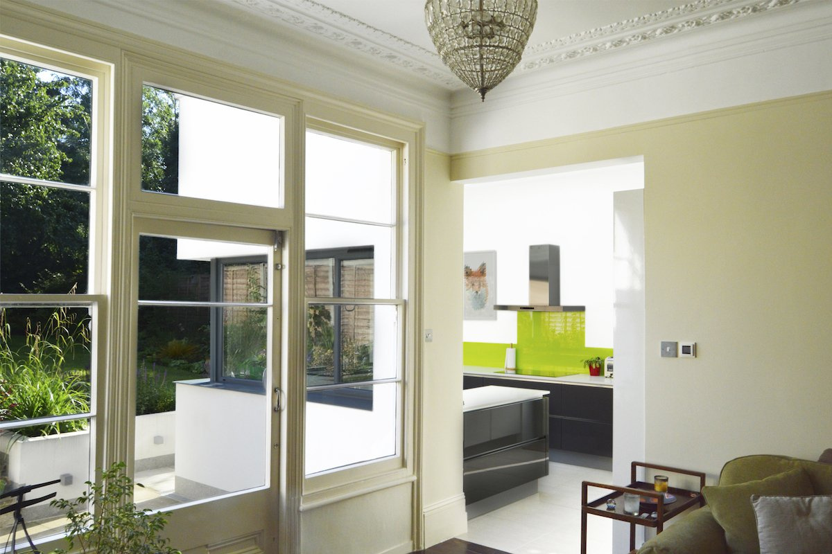 Architect designed Kilburn Brent NW2 kitchen house extension Internal views 2 1200x800 Kilburn, Brent NW2 | Garden flat extension