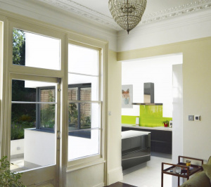 Architect designed Kilburn Brent NW2 kitchen house extension Internal views 2 300x266 Kilburn, Brent NW2 | Garden flat extension