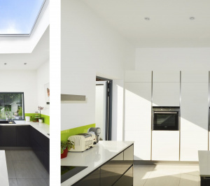 Architect designed garden flat extension Kilburn Brent NW2 Kitchen ideas 2 300x266 Kilburn, Brent NW2 | Garden flat extension