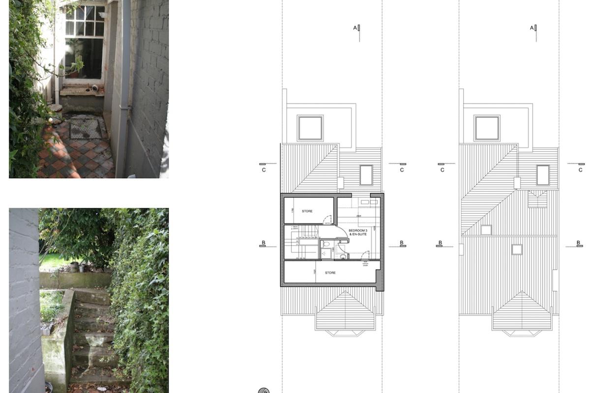 02 Highgate Haringey N8 House extension Upper floor plans 1200x800 Highgate II, Haringey N8 | House extension
