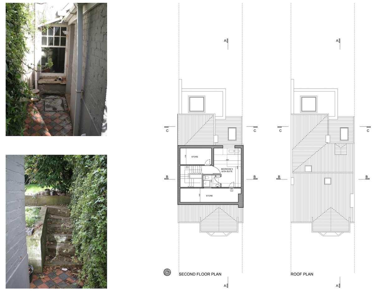 02 Highgate Haringey N8 House extension Upper floor plans Highgate II, Haringey N8 | House extension