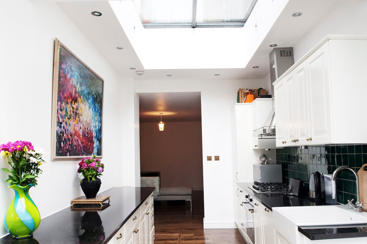 Architect designed flat extension Warwick Avenue Westminster W9 Kitchen area Warwick Avenue, Westminster W9 | Flat extension