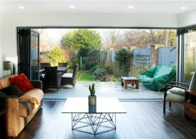 Architect designed house extension Brockley Lewisham SE4 View to the garden 1200x781 1 400x284 Filterable Portfolio of Residential Architecture Projects