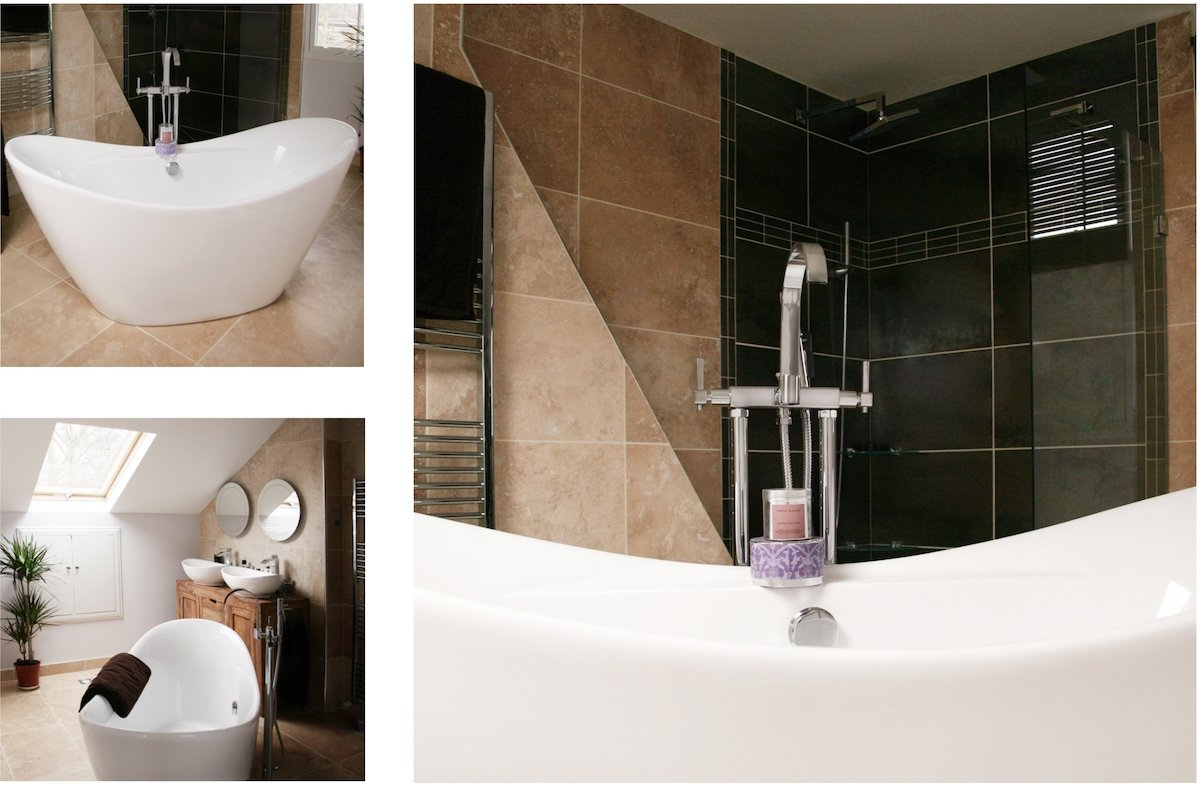 Architect designed house extension Chiswick Hounslow W4 Bathroom design photos Chiswick, Hounslow W4   House extension