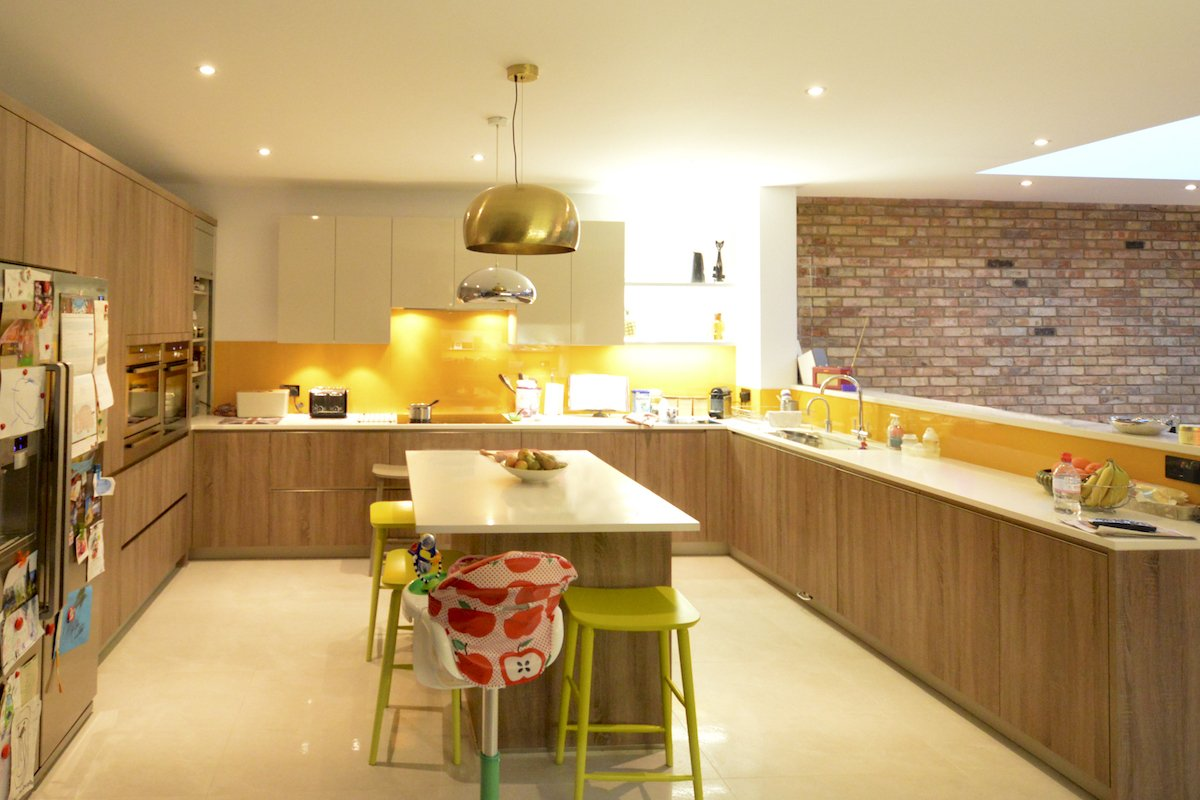 Architect designed house extension Grange Park Enfield N21 Kitchen area Grange Park, Enfield N21 | House extension and alterations