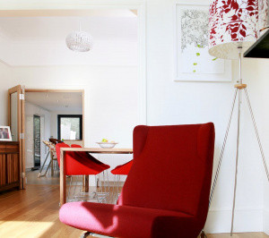 Architect designed house extension Highbury Islington N5 Dinning and living areas 300x266 Highbury, Islington N5 | House extension