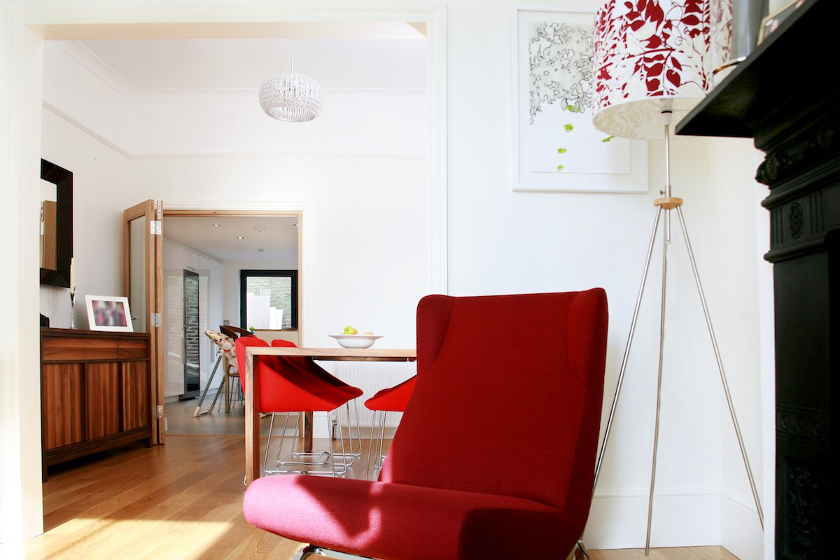 Architect designed house extension Highbury Islington N5 Dinning and living areas Highbury, Islington N5 | House extension