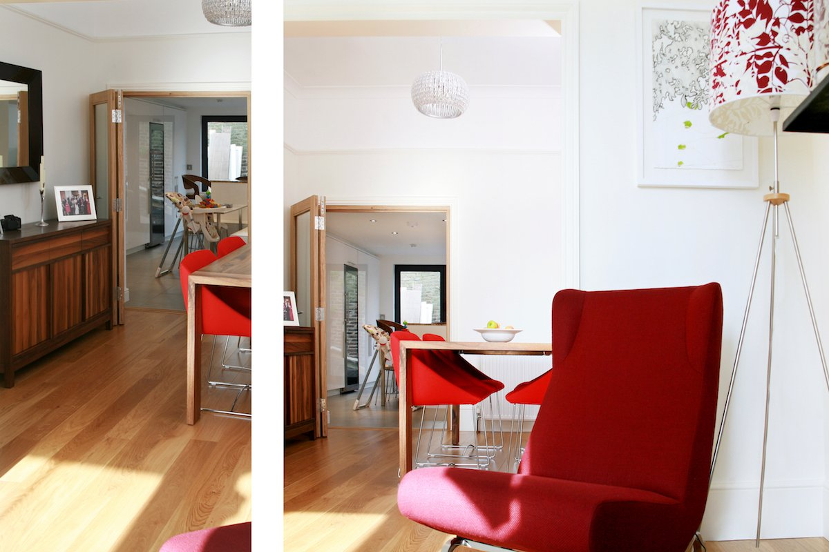 Architect designed house extension Highbury Islington N5 Ground dinning and living areas Highbury, Islington N5 | House extension