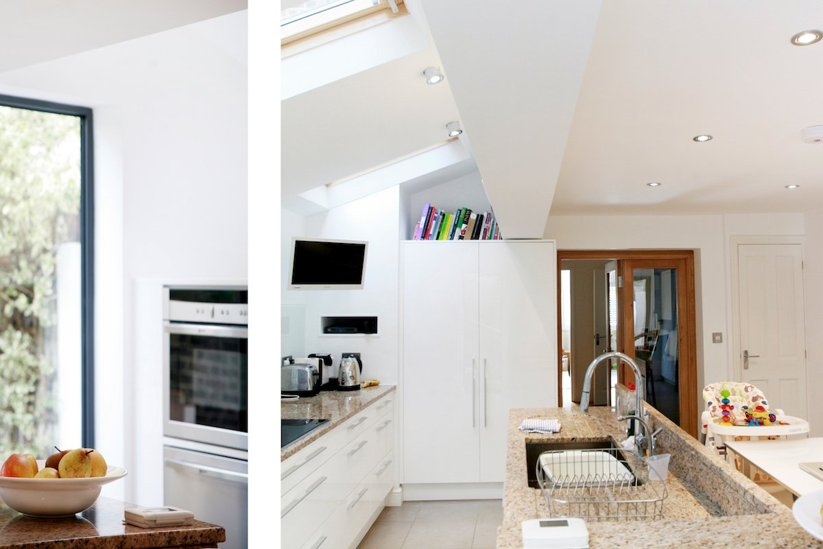 Architect designed house extension Highbury Islington N5 Kitchen and internal views Highbury, Islington N5 | House extension