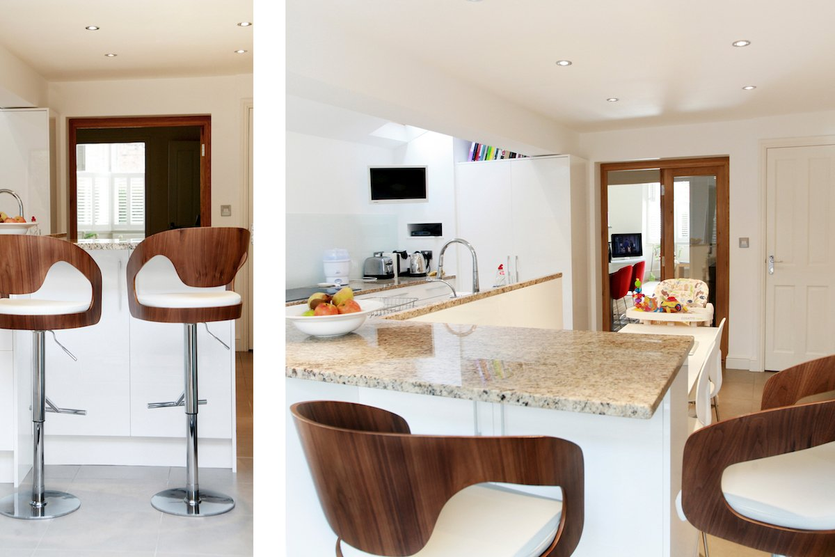 Architect designed house extension Highbury Islington N5 Side kitchen extension and spaces Highbury, Islington N5 | House extension