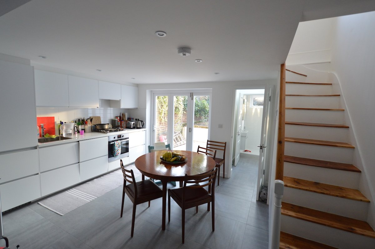 Architect designed house extension with full refurbishment Lewisham SE13 View of ground floor1 Lewisham SE13 | House extension and full refurbishment