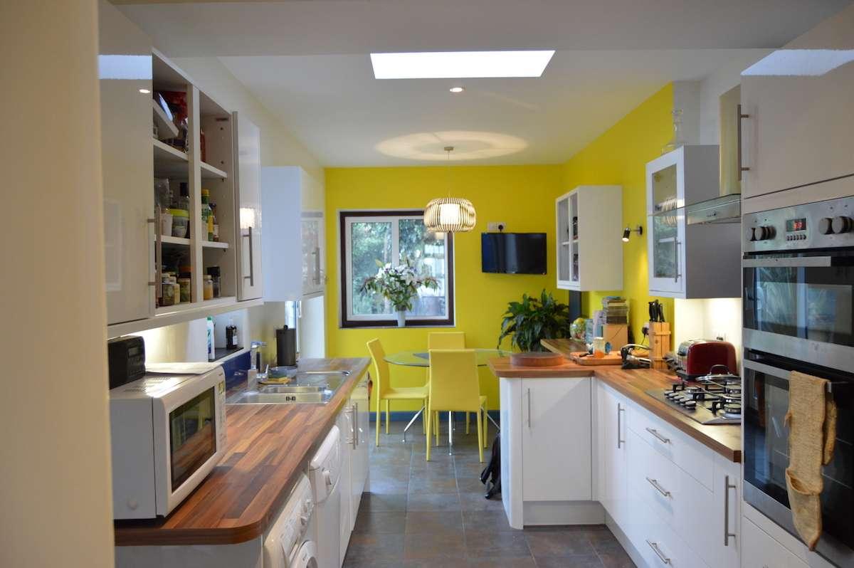 Architect designed kitchen extension Honor Oak Park Lewisham SE23 Internal view Honor Oak Park, Lewisham SE23 | Kitchen extension