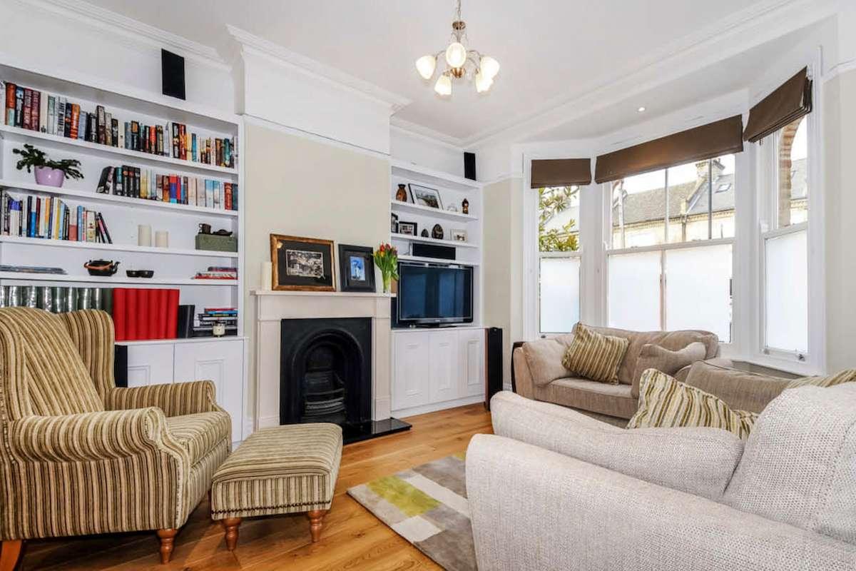 Architect designed rear house extension Herne Hill SE24 Lambeth Living room Herne Hill, Lambeth SE24 | House extension