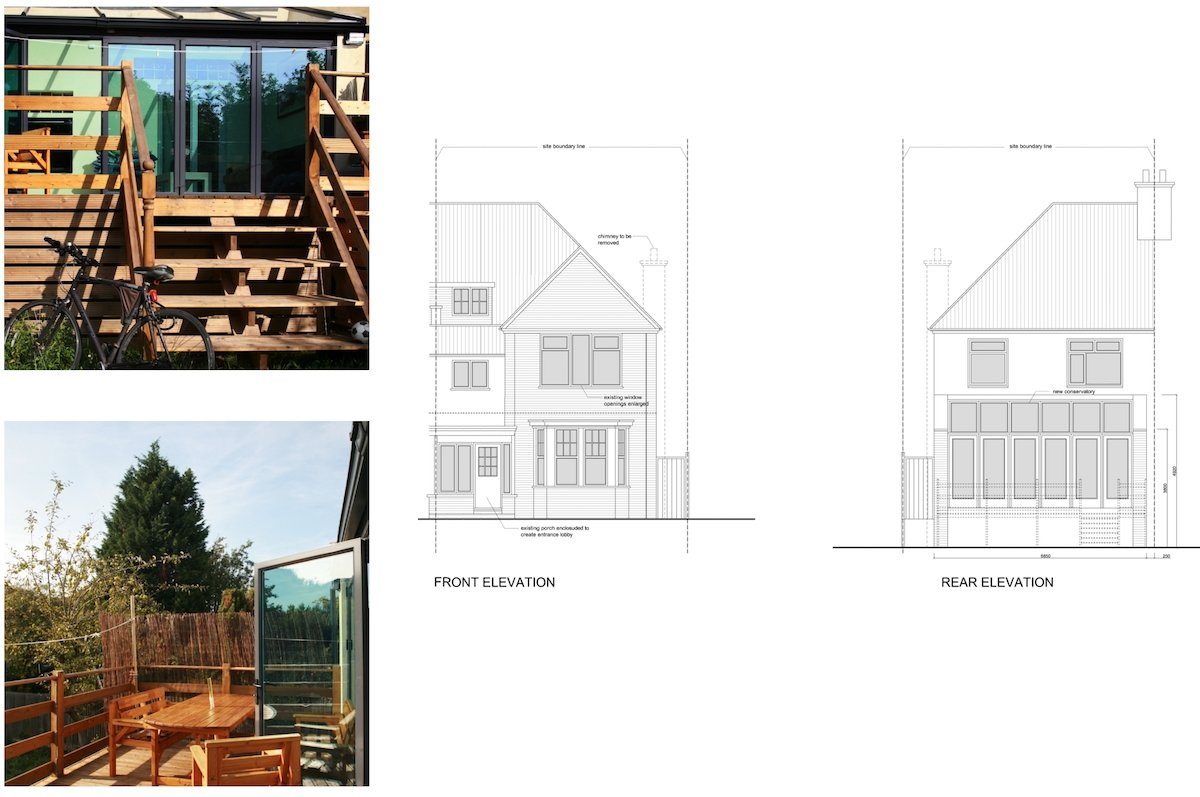 Golders Green Barnet NW11 House extension Design elevations Golders Green I, Barnet NW11 | House rear extension
