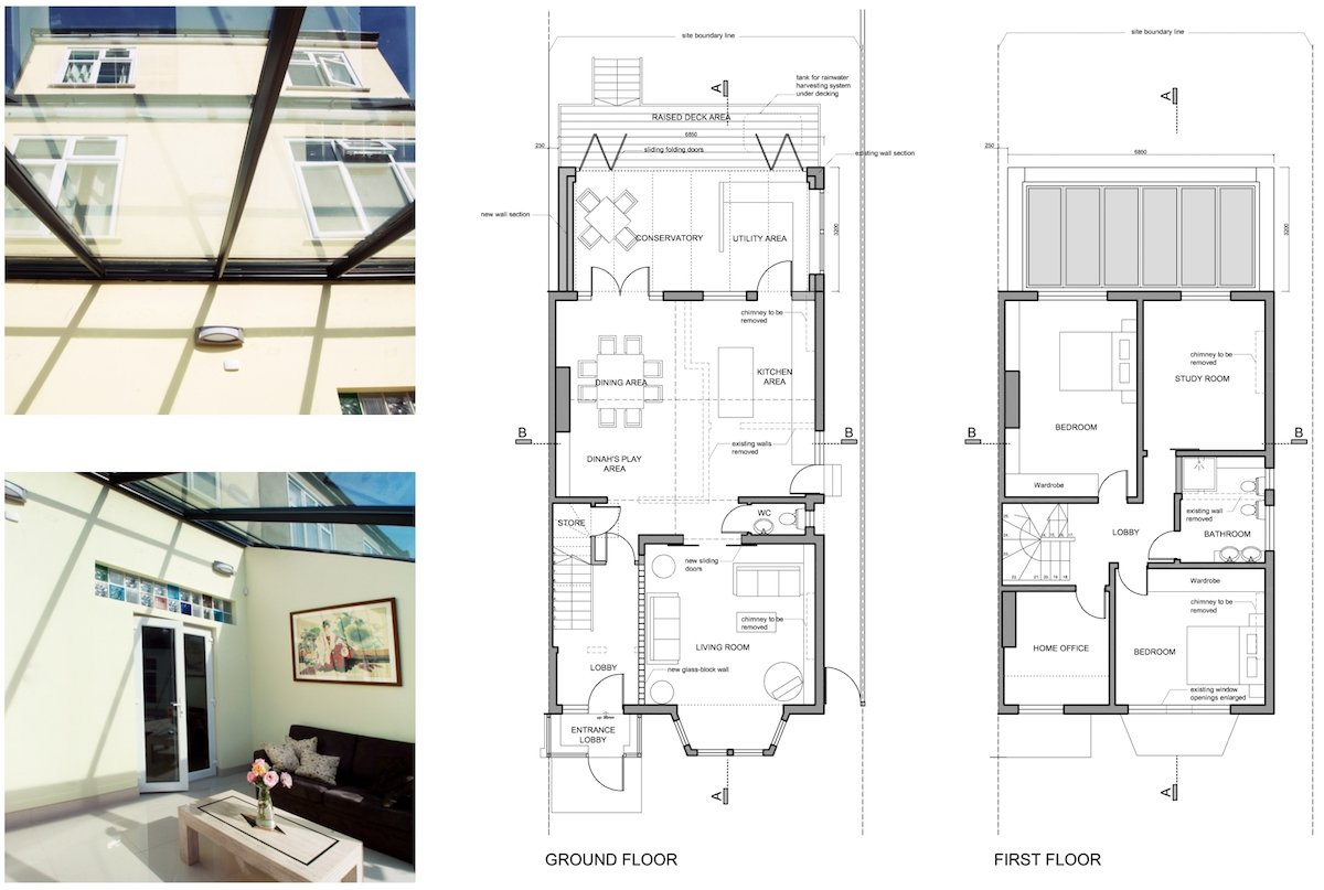 Golders Green Barnet NW11 House extension Design floor plans Golders Green I, Barnet NW11 | House rear extension