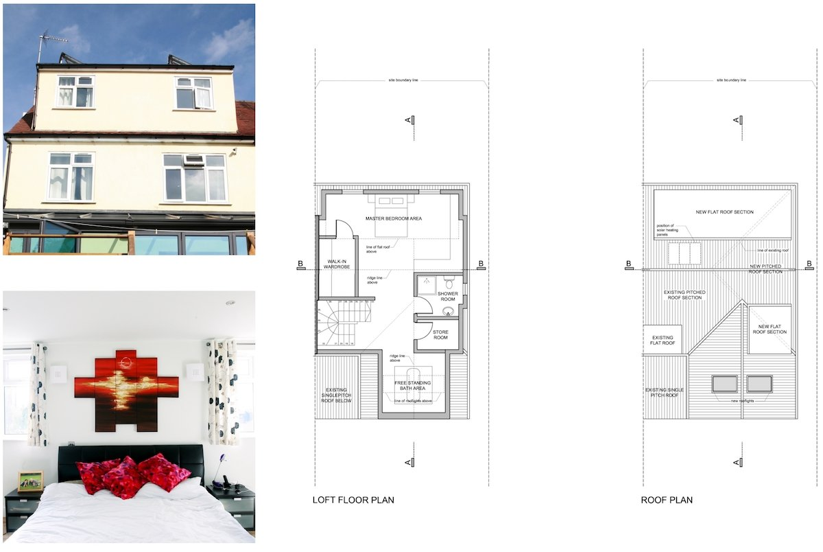 Golders Green Barnet NW11 House extension Design floor plans1 Golders Green II, Barnet NW11 | House extension