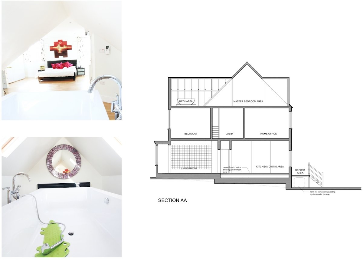 Golders Green Barnet NW11 House extension Design section Golders Green II, Barnet NW11 | House extension