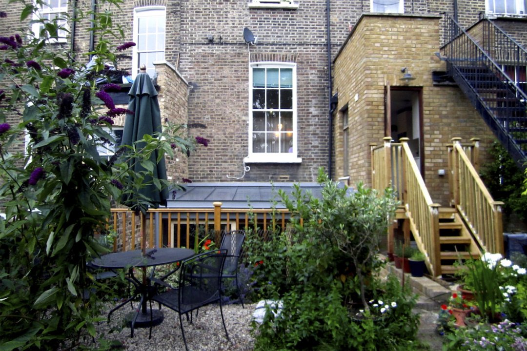 Kings Cross Islington WC1 – Listed Building rear flat extension – Rear elevation photo copy e1582378687858 Kings Cross, Islington WC1 | Grade II Listed flat extension