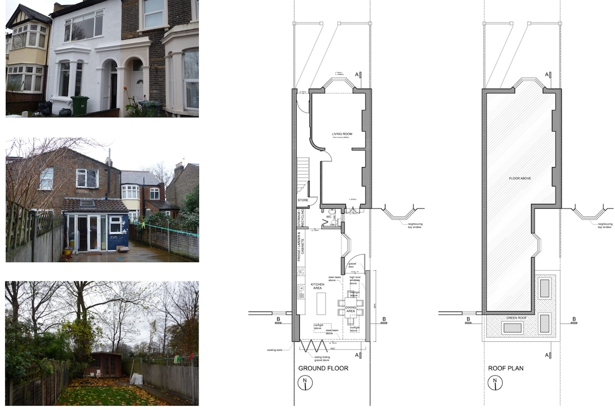 Newham E7 – House extension Floor plans 1200x800 Newham, E7 | House extension