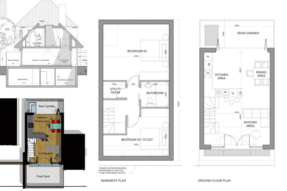 Southfields Wandsworth SW18 residential development – Architect design plans 1200x800 Southfields, Wandsworth SW18 | Residential development