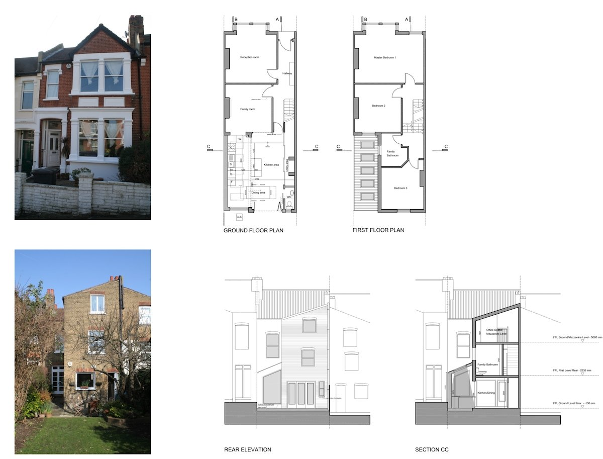 Streatham Hill Lambeth SW16 House extension design plans Streatham Hill, Lambeth SW16 | House extension