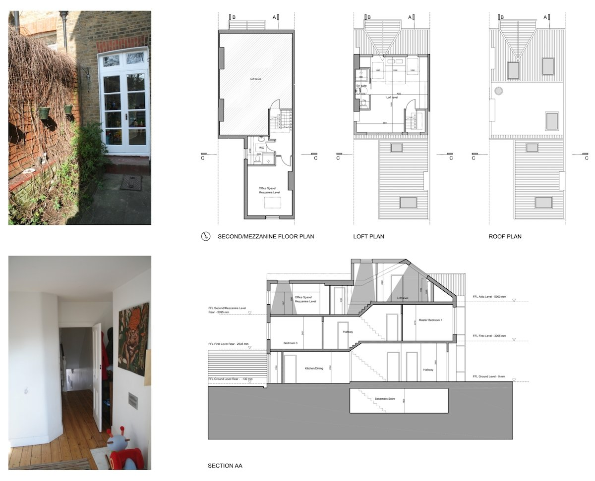 Streatham Hill Lambeth SW16 Roof extension design plans Streatham Hill, Lambeth SW16 | House extension