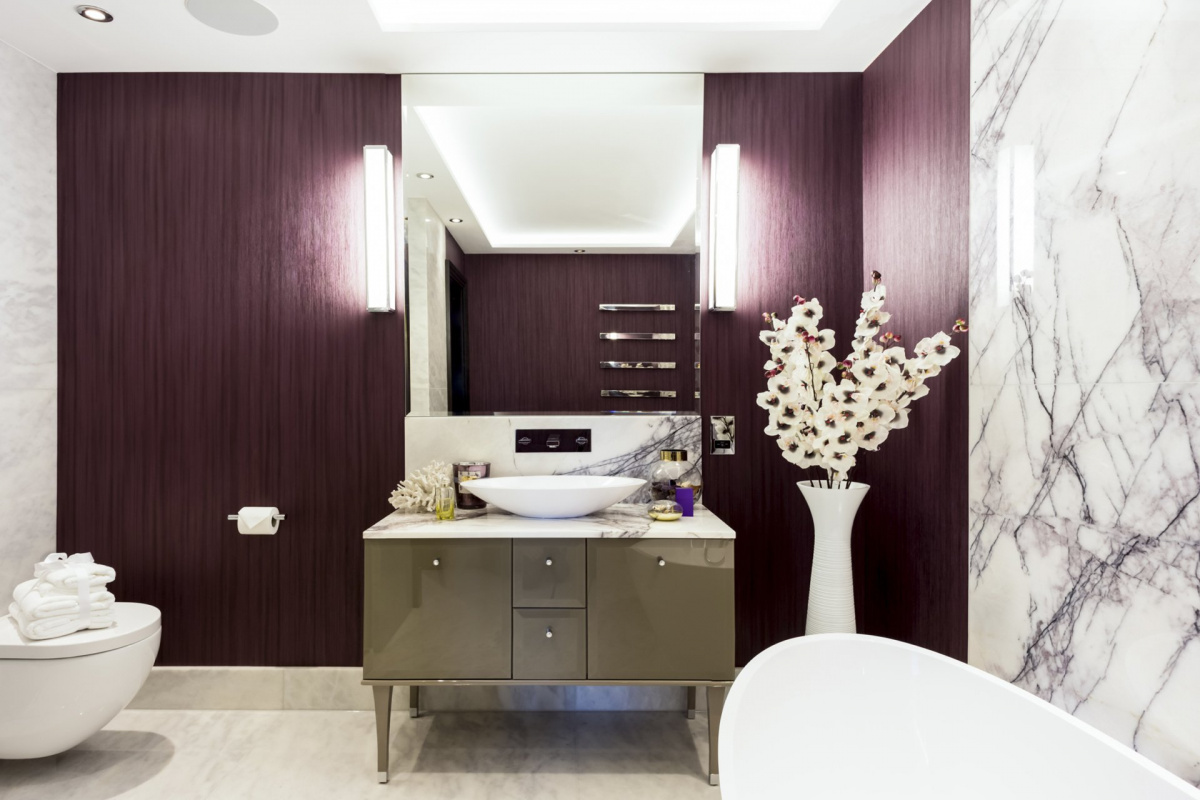 St James Park Westminster SW1H Penthouse alterations and refurbishment En suite bathroom 1 1200x800 St James Park, Westminster SW1H   Penthouse alterations and refurbishment
