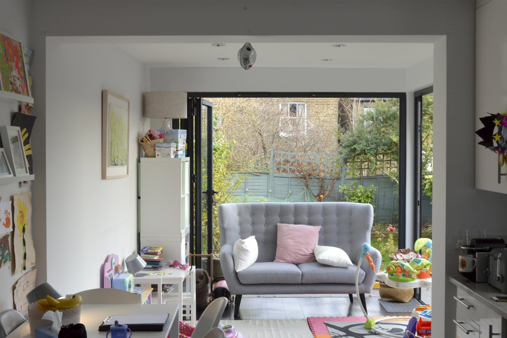 Architect designed rear house extension Penge east Bromley SE26 Play area 1 Penge East, Bromley SE26 | Rear house extension
