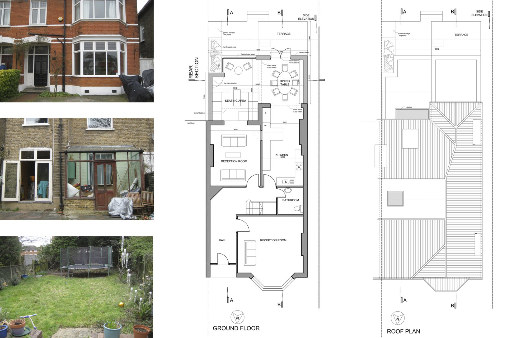 Grove Park Lewisham SE12 – House rear extension – Design floor plans Grove Park, Lewisham SE12 | House extension