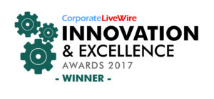 Innovation Winner 2017 300x140 Words + Awards | GOA Studio