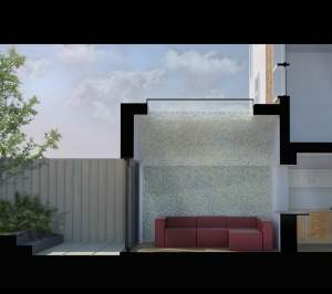 Angel Islington N1 Listed House rear extension – Section 3D 1 300x266 Angel, Islington N1 | Listed house rear extension