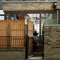 Kings Cross Camden NW1 House extension External view and detail 200x200 Camden residential architect projects