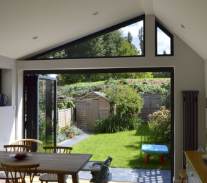 Nunhead Lewisham SE15 House kitchen extension – Inside out view 300x266 Nunhead, Lewisham SE15 | House kitchen extension