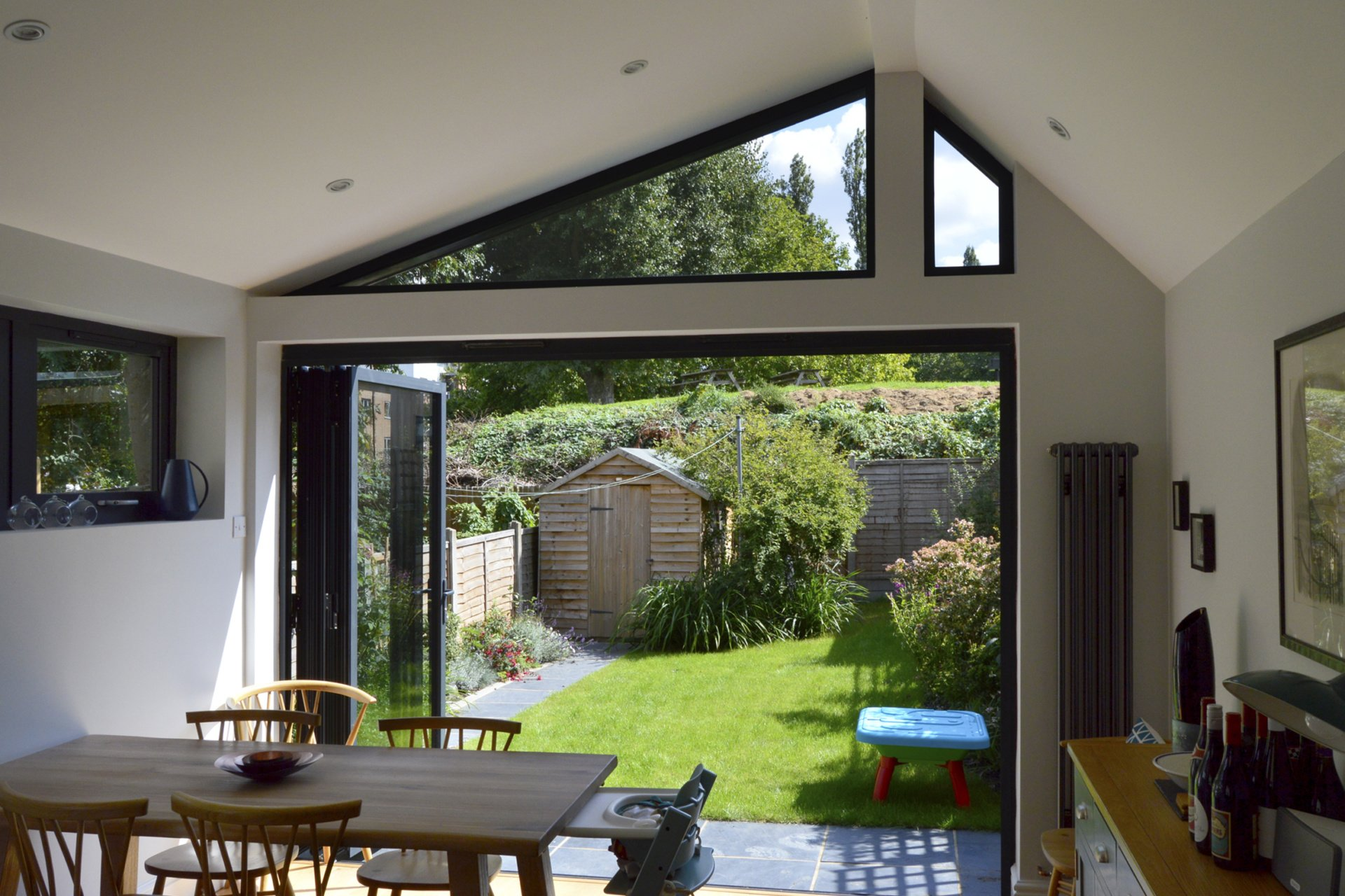 Nunhead Lewisham SE15 House kitchen extension – Inside out view Nunhead, Lewisham SE15 | House kitchen extension