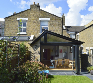 Nunhead Lewisham SE15 House kitchen extension – Rear elevation 2 e1582377720350 300x266 Nunhead, Lewisham SE15 | House kitchen extension
