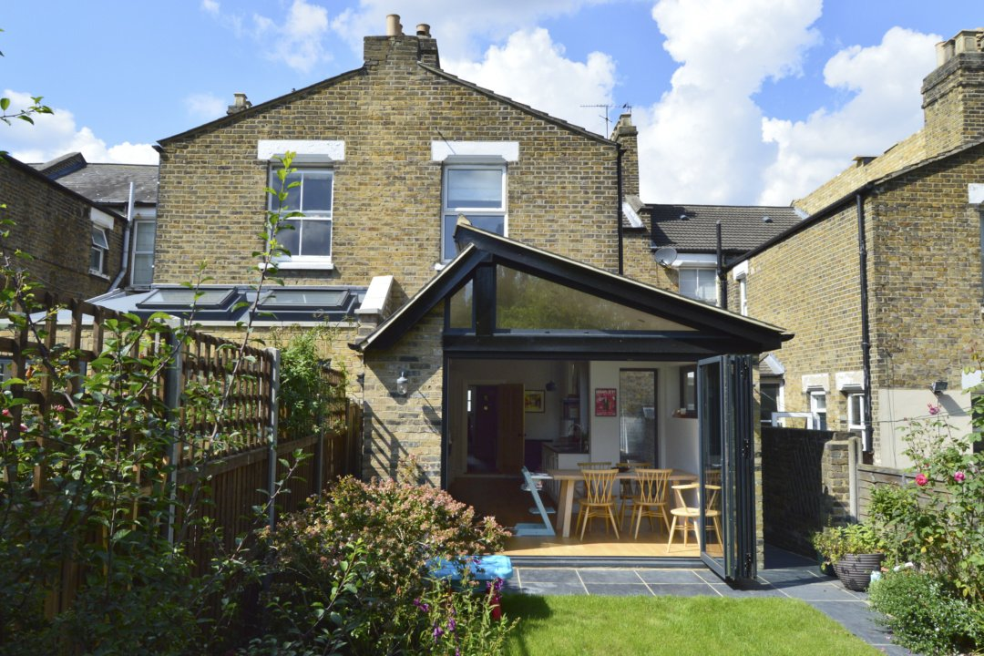 Nunhead Lewisham SE15 House kitchen extension – Rear elevation 2 e1582377720350 Nunhead, Lewisham SE15 | House kitchen extension