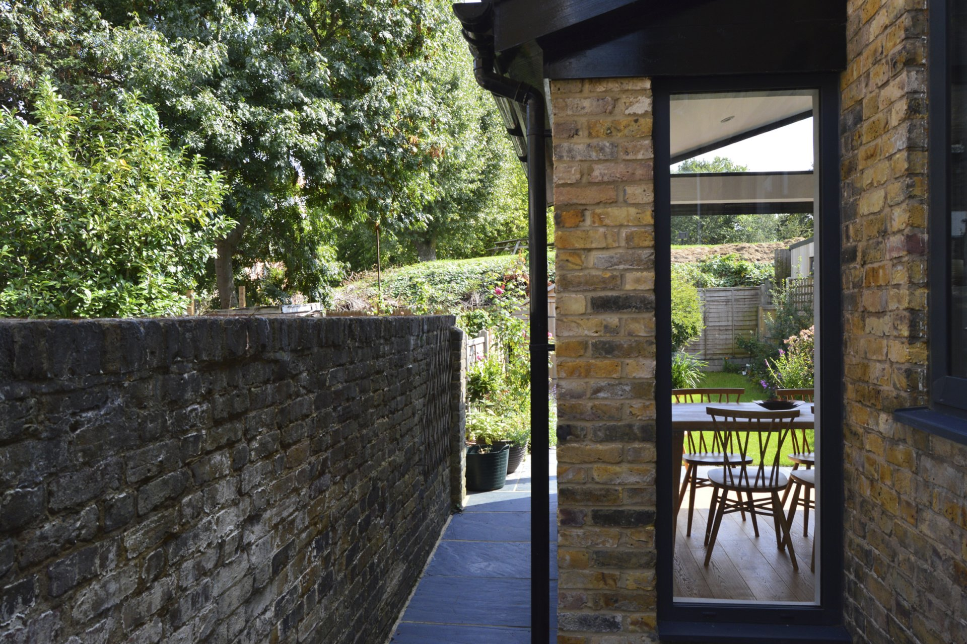 Nunhead Lewisham SE15 House kitchen extension – Side through view Nunhead, Lewisham SE15 | House kitchen extension