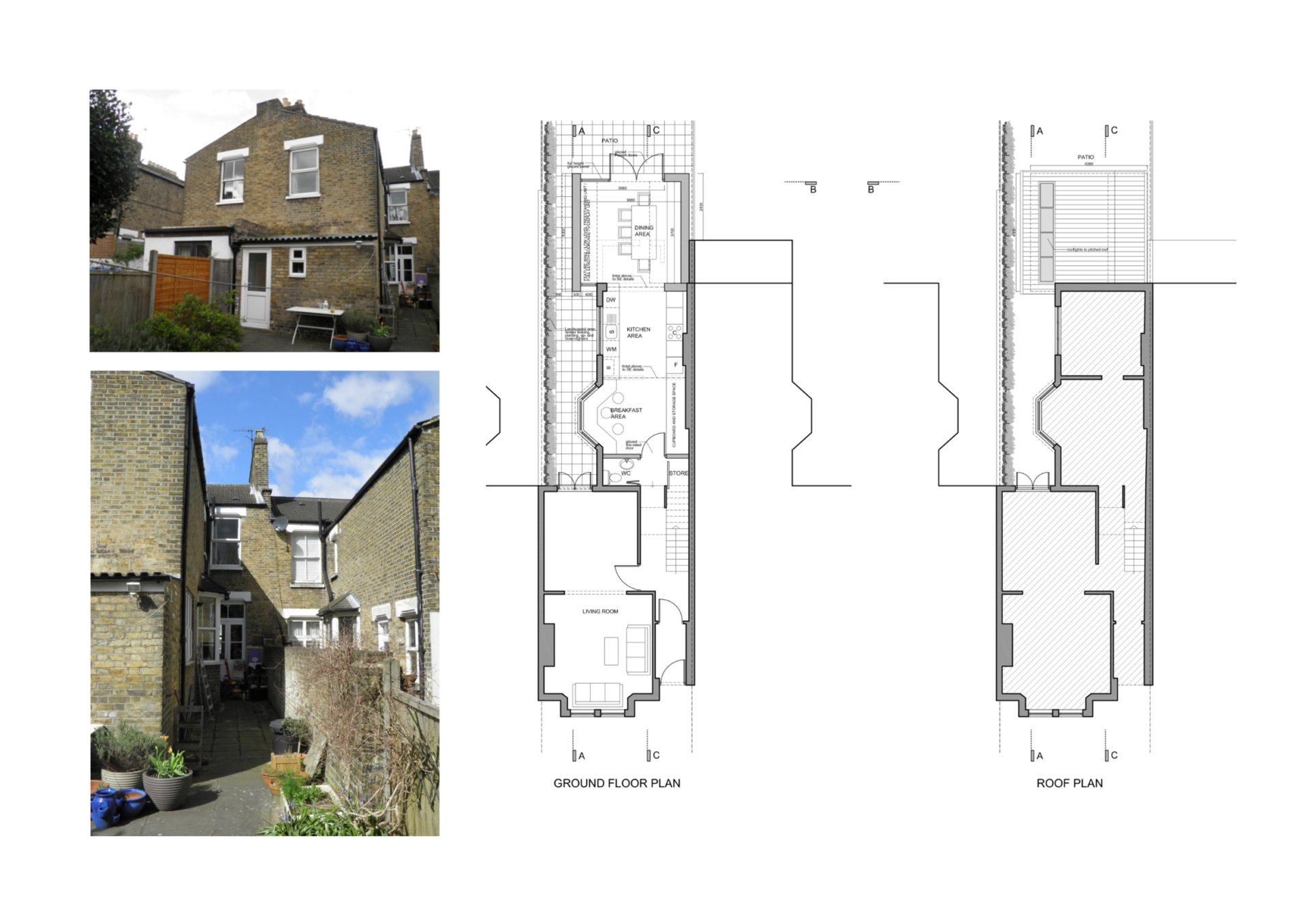 Nunhead Lewisham SE15 house kitchen extension – Architectural plans Nunhead, Lewisham SE15 | House kitchen extension