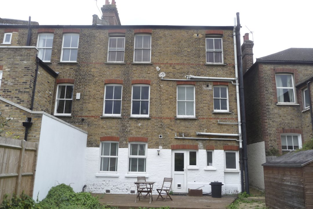 Architect designed garden flat extension Tooting Broadway Wandsworth SW17 Site photo 1 e1582379795315 Tooting Broadway, Wandsworth SW17 | Garden flat extension
