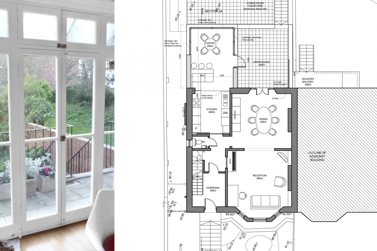 Architect designed rear house extension Tufnell Park Camden NW5 First floor 1200x800 Tufnell Park, Camden NW5   Rear house extension