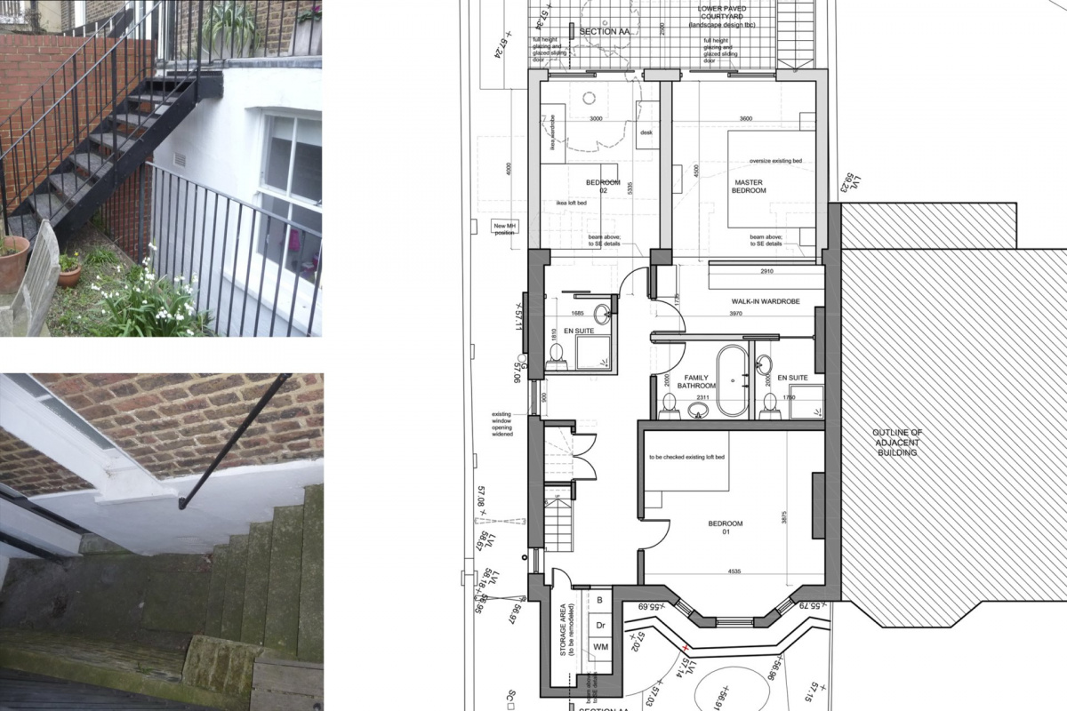 Architect designed rear house extension Tufnell Park Camden NW5 Ground floor 1200x800 Tufnell Park, Camden NW5   Rear house extension
